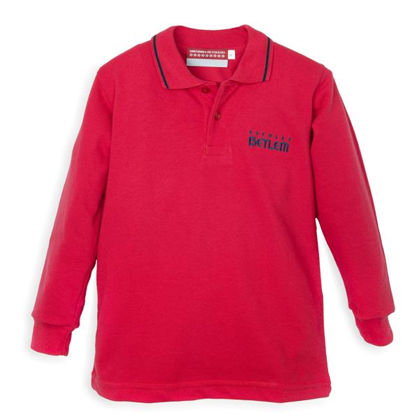POLO ROJO ML BETLEM