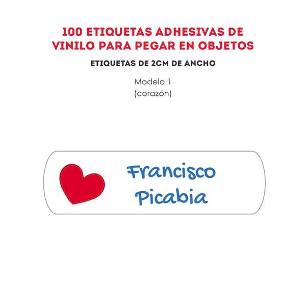 ETIQUETAS DE VINILO REF.:1