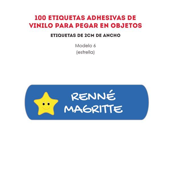 ETIQUETAS DE VINILO REF.:6