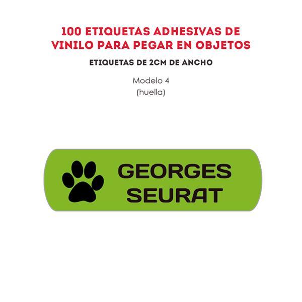 ETIQUETAS DE VINILO REF.:4