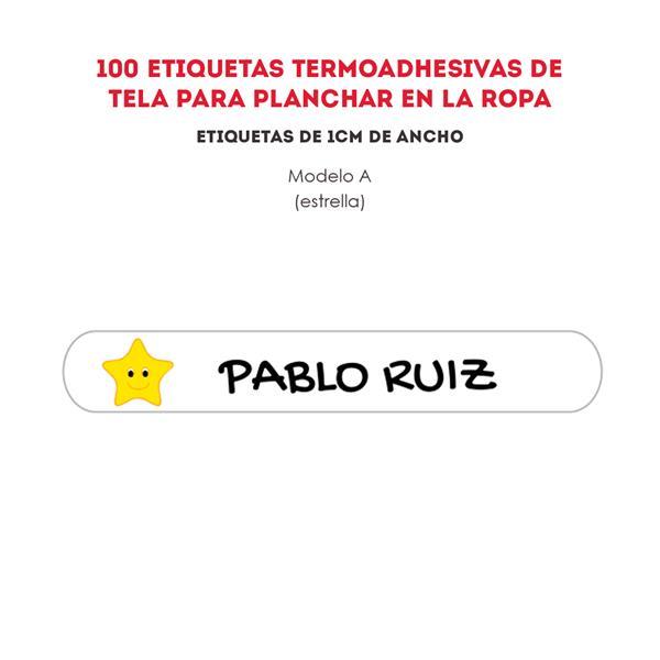 ETIQUETAS TERMOADHESIVAS REF.: A