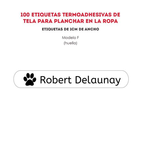 ETIQUETAS TREMOADHESIVAS REF.:F