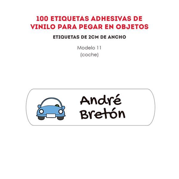 ETIQUETAS DE VINILO REF.:11