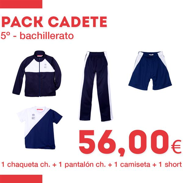 PACK CADETE
